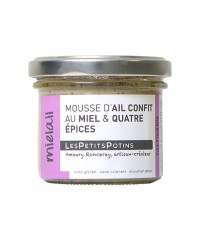 Mousse d'ail confit au miel et 4 épices - Mielail - Les Petits Potins