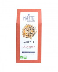Muesli bio cranberry - Marlette
