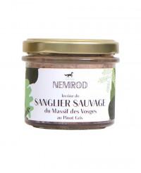Terrine de sanglier sauvage au Pinot Gris - Nemrod