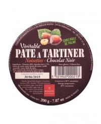 Pâte à tartiner - chocolat noir et noisettes - Bovetti