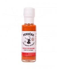 Sauce pimentée sauvage des Balkans - force 6 - Pekočko