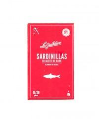 Petites sardines à l'huile d'olive - La Guildive