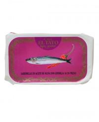Petites sardines à l'huile d'olive et au piment - Calle el Tato