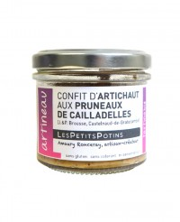 Confit d'artichaut aux pruneaux - Artineau - Les Petits Potins