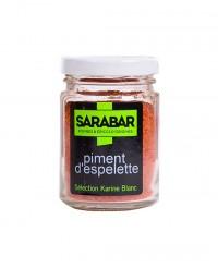 Poudre de piment d'Espelette - Sarabar