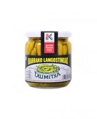 Piments verts doux Guindillas - Ibarrako Langostinoak