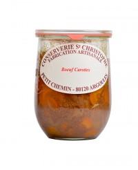 Plat cuisiné Boeuf carottes - Conserverie Saint-Christophe