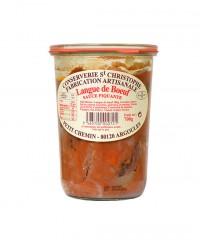 Plat cuisiné Langue de boeuf sauce piquante - Conserverie Saint-Christophe