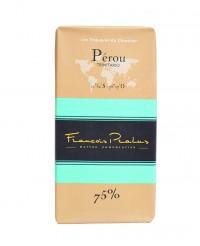Tablette chocolat noir Pérou - Pralus