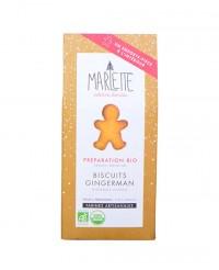 Préparation bio pour Biscuits de Noël - Gingerman - Marlette