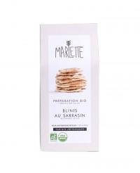 Préparation bio pour blinis au Sarrasin - Marlette