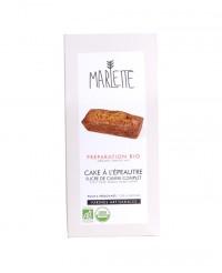 Préparation bio pour Cake à l'épeautre - Marlette