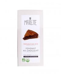 Préparation bio pour Fondant au chocolat - Marlette