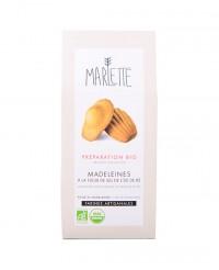 Préparation bio pour Madeleines à la fleur de sel de l'île de Ré - Marlette