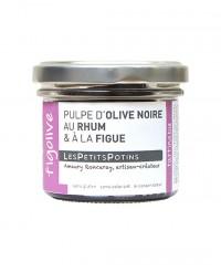 Pulpe d'olive noire au rhum et à la figue - Figolive