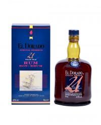 Rhum El Dorado 21 ans - El Dorado