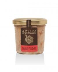 Rillettes de porc bio aux pommes et au Calvados - Le Mottay Gourmand