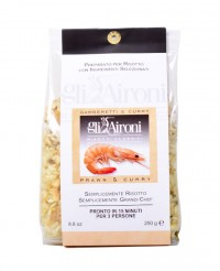 Risotto aux crevettes et au curry - Gli Aironi