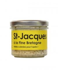 Rillettes de Saint-Jacques à la Fine Bretagne - L'Atelier du Cuisinier