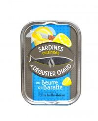 Sardines cuisinées au beurre de baratte - La Belle-Iloise