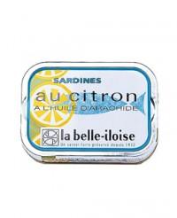 Sardines à l'huile d'arachide et au citron - Belle-Iloise (La)