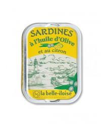 Sardines  à l'huile d'olive et au citron - Belle-Iloise (La)