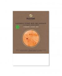 Saumon fumé bio irlandais - tranché main - Kaviari