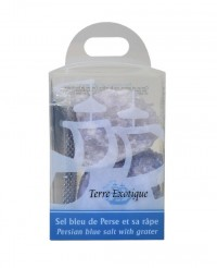 Sel bleu de Perse et sa rape - Terre Exotique