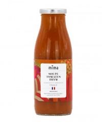 Soupe tomates thym bio - Mima Bio