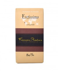 Tablette chocolat noir Fortissima - Pralus