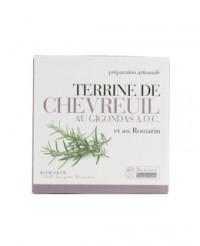 Terrine de Chevreuil au Gigondas et au Romarin - Provence Tradition