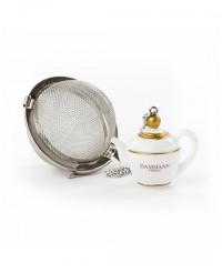 """Boule à thé tamis """"Théière"""" - Dammann Frères"""