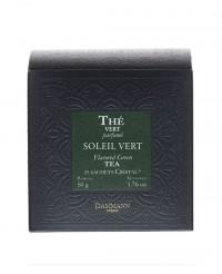 Thé Soleil Vert - sachet cristal - Dammann Frères