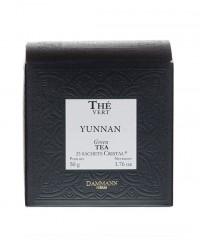 Thé Yunnan Vert - sachet cristal - Dammann Frères