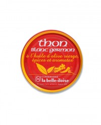Thon blanc germon à l'huile d'olive vierge, épices et aromates - La Belle-Iloise