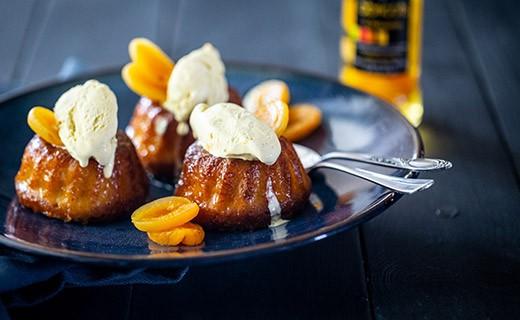 Abricots rafraîchis à l'Amaretto - Vergers de Gascogne