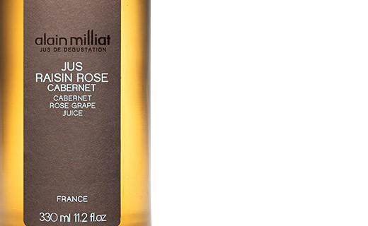 Jus de raisin rosé Cabernet - Alain Milliat