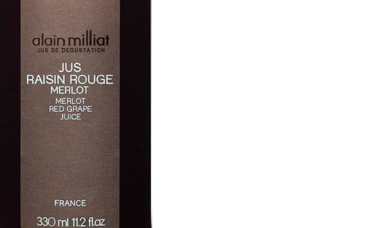 Jus de raisin rouge Merlot - Alain Milliat