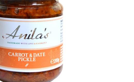 Pickle de carotte et datte  - Anila's
