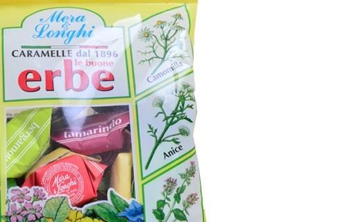 Bonbons durs aux herbes et fleurs - Mera & Longhi