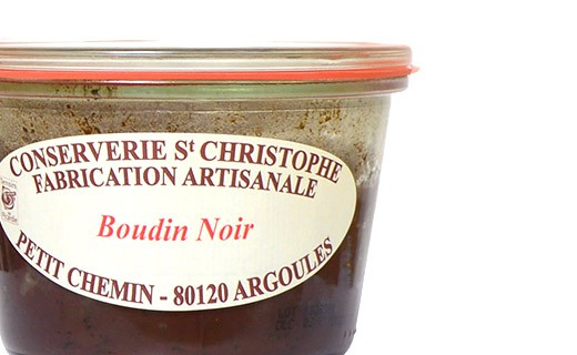 Boudin noir - Conserverie Saint-Christophe