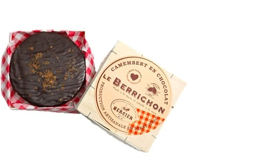 Camembert en chocolat le Berrichon - Chocolaterie Daniel Mercier
