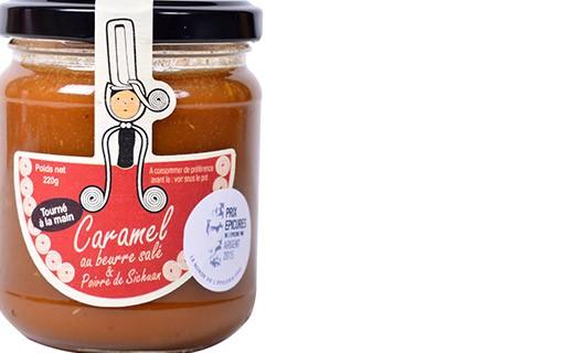 Caramel au beurre salé & poivre de Sichuan - Rozell et Spanell