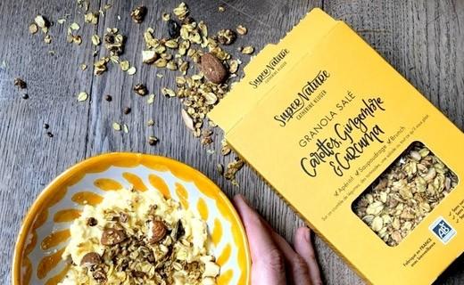 Granola salé carottes, gingembre et curcuma bio - Catherine Kluger