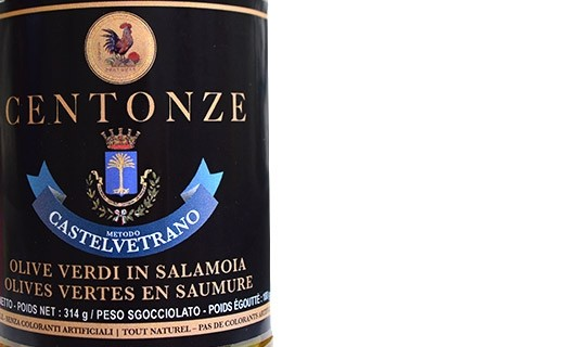 Olives vertes Nocellara del Belice - Centonze