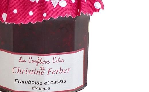 Confiture de framboise et cassis - Christine Ferber