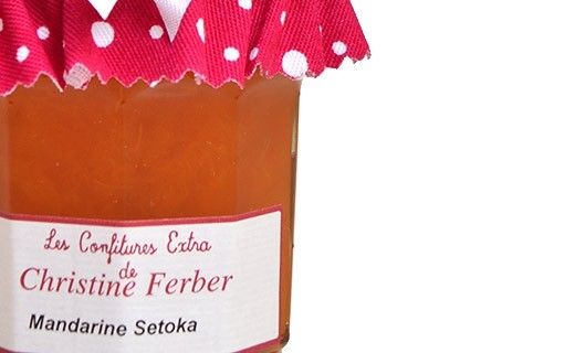 Confiture de Mandarine Setoka - Christine Ferber