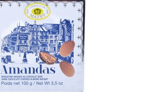 Spécialité de chocolat Amandas - Mazet
