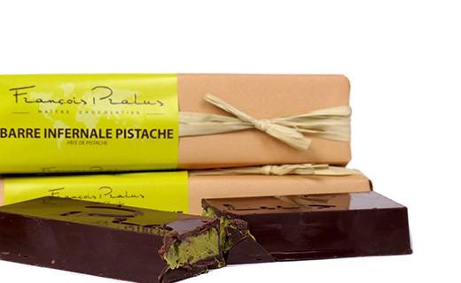 La Barre Infernale Pistache - Pralus