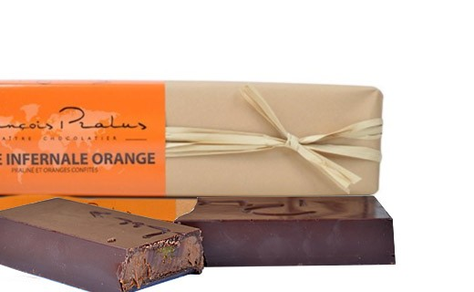 La Barre Infernale Orange - Pralus